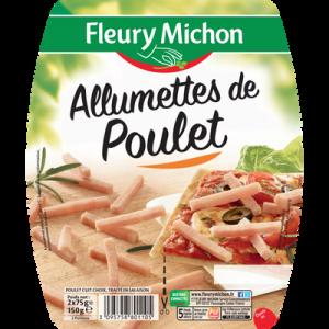 Allumettes de poulet FLEURY MICHON, 2x75g