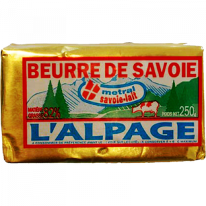 Beurre doux de Savoie L'ALPAGE, 250g