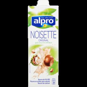 Boisson à base de noisette avec calcium et vitamines ajoutés ALPRO, 1litre