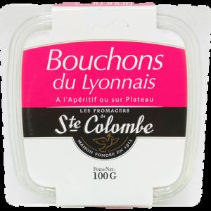 Bouchon du Lyonnais au lait pasteurisé STE COLOMBE, 36% de MG, 100g