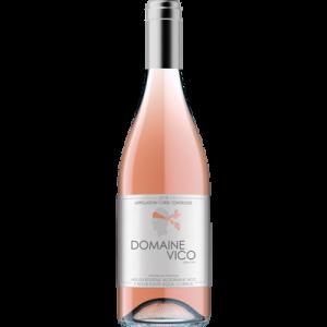 CLUB DES VINS & TERROIRS vin rosé de Corse AOP Domaine Vico HVE3, 75cl