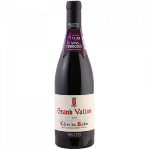 CVT CDR AOP rouge Grand Vallon 2017, 75cl