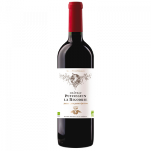 CVT Puisseguin St Emilion AOP rouge, château La Rigodrie bio 2016, 75cl