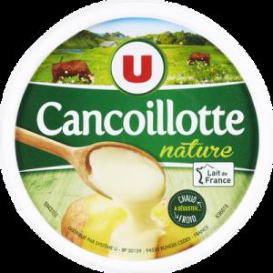 Cancoillotte nature au lait pasteurisé U, 11% de MG, pot de 250g