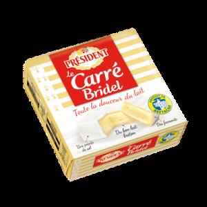 Carré au lait pasteurisé Carré BRIDEL, 24%MG, 200g