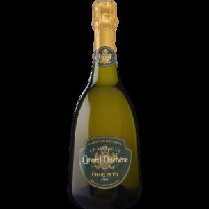 Champagne brut CHARLES VII CANARD DUCHÊNE, bouteille de 75cl