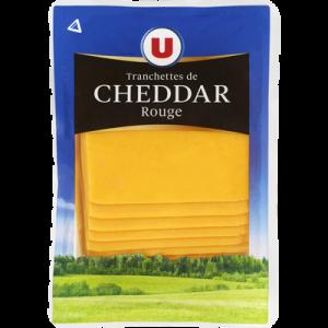 Cheddar au lait pasteurisé, fromage à pâte pressée non cuite U, 34,70 MG, 200g