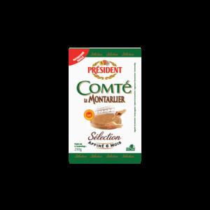 Comté AOP au lait cru Le Montarlier PRESIDENT, 34% de MG, 230g