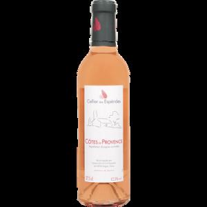 Cotes de Provence AOC rosé CELLIER DES ESPERIDES U 37,5cl