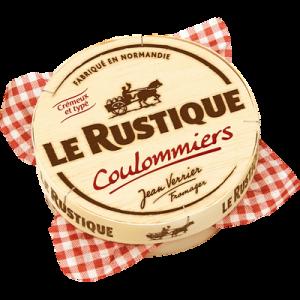 Coulommiers au lait pasteurisé LE RUSTIQUE, 23%MG, 350g