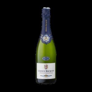 Crémant de Bourgogne AOP Brut LEONCE BOCQUET, bouteille de 75cl