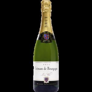 Crémant de Bourgogne brut blanc AOP Louis Villot U, 75cl