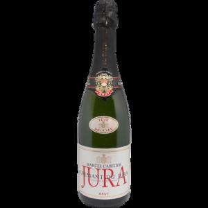 Crémant du Jura AOP brut Marcel Cabelier Tête de Cuvée, bouteille de 75cl