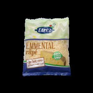 Emmental râpé au lait cru ETREZ, 32% de MG, 150g