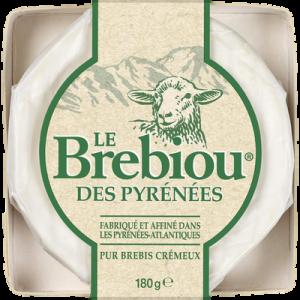 Fromage au lait de brebis pasteurisé LE BREBIOU, 27% de MG, 80g