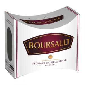 Fromage au lait pasteurisé BOURSAULT, 36% de MG, 200g