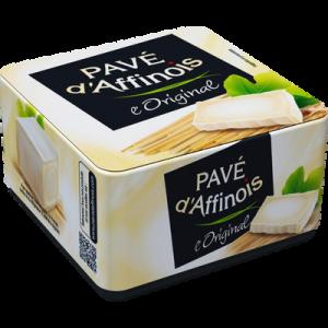 Fromage au lait pasteurisé l'original PAVE D'AFFINOIS, 20% de MG, 200g