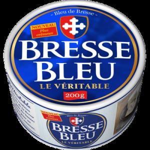 Fromage pasteurisé 30% de MG BRESSE BLEU, 200g