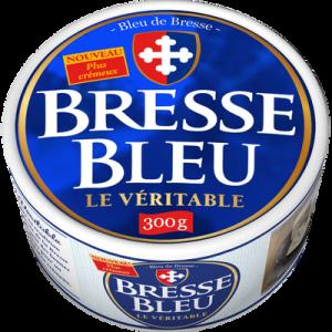 Fromage pasteurisé 30% de MG BRESSE BLEU, 300g