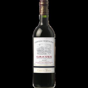 Graves AOC rouge Comte de Valois, 75c