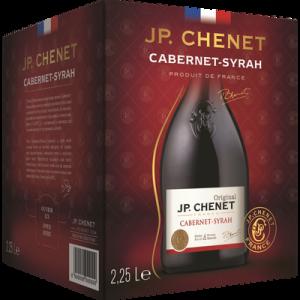 IGP Pays d'Oc Cabernet Syrah rouge J.P.Chenet bib de 2,25l
