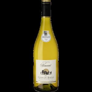 Vin blanc AOC Côtes du Rhône ORATOIRE SAINT VINCENT, 75cl