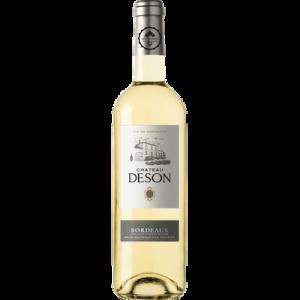 Vin blanc AOC moelleux Bordeaux Château DESON, bouteille de 75cl