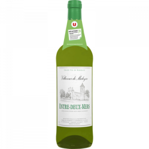 Vin blanc AOP Entre-Deux-Mers Villecour de Maleyres U, 75cl