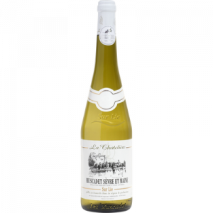 Vin blanc AOP Muscadet Sèvre et Maine sur lie La Chatelière U, 75cl