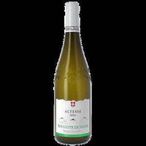 Vin blanc AOP Roussette de Savoie Altesse les vignerons des Terroirsde Savoie, 75cl