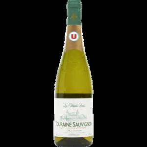 Vin blanc AOP Touraine Sauvignon Les hauts buis U, 75cl