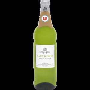 Vin blanc IGP Pays d'Oc Sauvignon U, 75cl