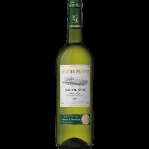 Vin blanc de pays d'Oc Sauvignon ROCHE MAZET, 75cl