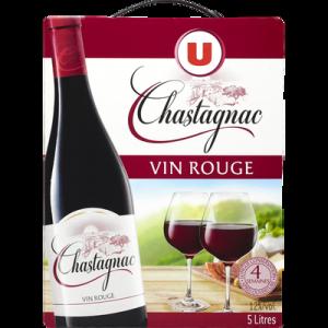 Vin d'Espagne Rouge CHASTAGNAC U, 5 L