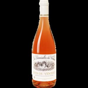 Vin rosé AOC Côtes du Ventoux Les Demoiselles Coiffées, 75cl