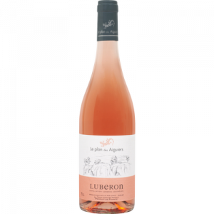 Vin rosé AOC Lubéron Plan des Aiguiers U, 75cl