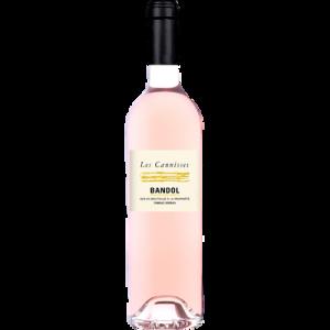 Vin rosé AOP Bandol Les Cannisses, bouteille de 75cl
