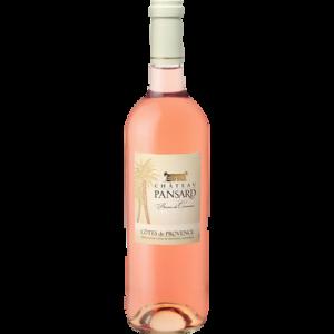 Vin rosé AOP Côtes de Provence Château Pansard