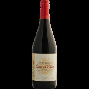 Vin rouge AOC Côtes du Rhône les Rastellains