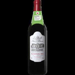 Vin rouge AOC Gaillac Bailli de Notre Dame U, 75cl