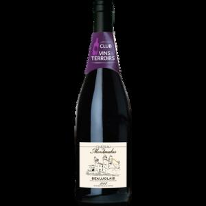 Vin rouge AOP Beaujolais Château de Montmelas, 75cl