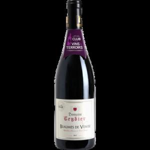 Vin rouge AOP Beaumes de Venise Domaine Leydier CVT