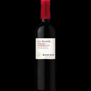 Vin rouge IGP Pays d'Oc Syrah Marselan Les accords de Roche Mazet, 75cl