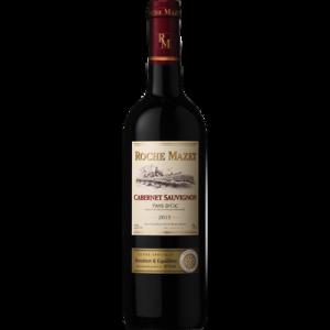 Vin rouge IGP Pays d'Oc cabernet Sauvignon cuvée spéciale ROCHE MAZET,75cl