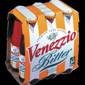 Apéritif sans alcool VENEZZIO BITTER, 6x10cl