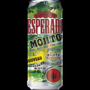 Bière à la tequila DESPERADOS mojito 5,9° boîte 50cl