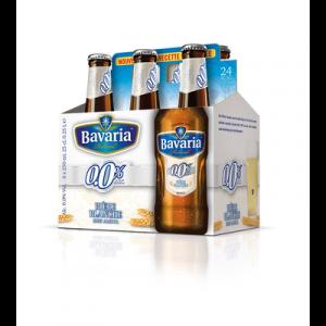 Bière Wit blanche BAVARIA, 0°, 6 bouteilles de 25cl
