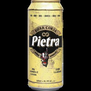 Bière ambrée Corse à la châtaigne 6° PIETRA, bouteille de 50cl
