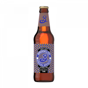 Bière sans alcool spécial effects BROOKLYN, bouteille de 35,5cl