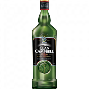 Blended Scotch whisky Clan CAMPBELL, 40°, 1 litre
